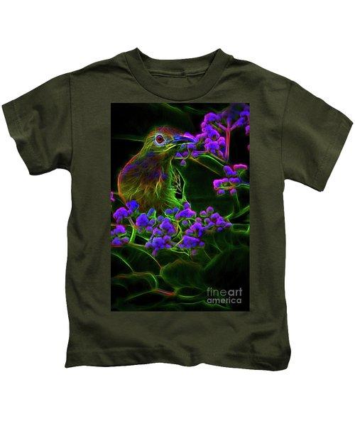 Neon Sunbird Kids T-Shirt