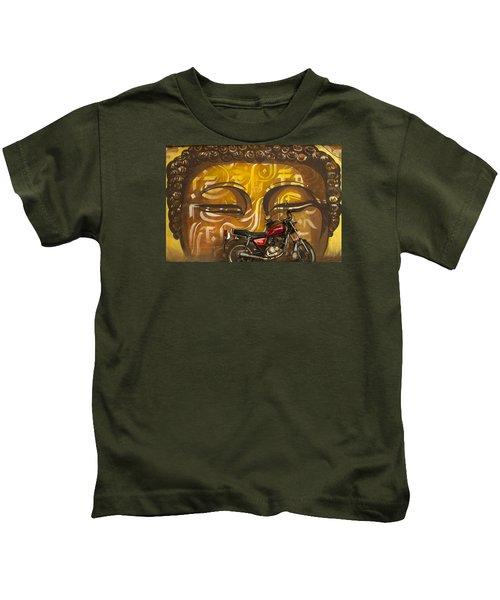 Nepal Buddha Kids T-Shirt