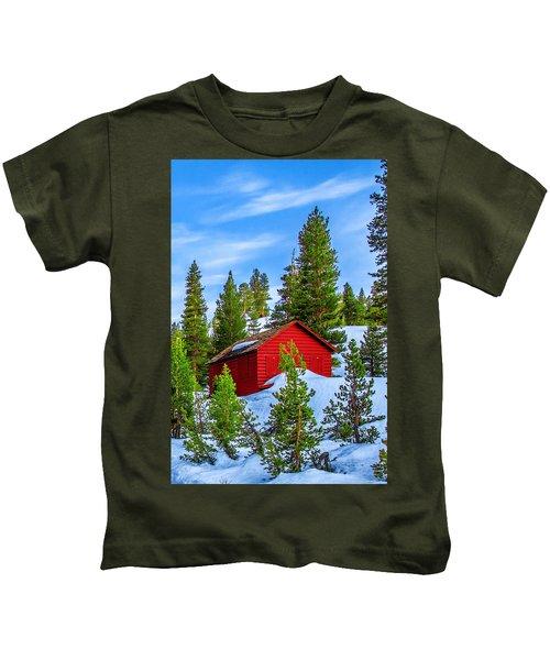 Nestled In Kids T-Shirt