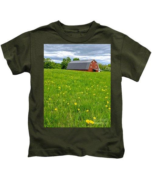 New England Landscape Kids T-Shirt