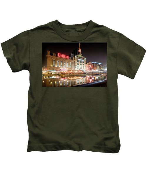 New Life Of Old Power Plant Kids T-Shirt