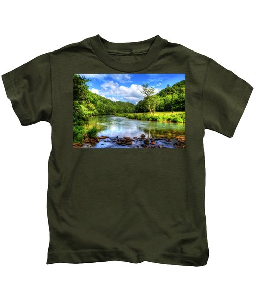 New River Summer Kids T-Shirt