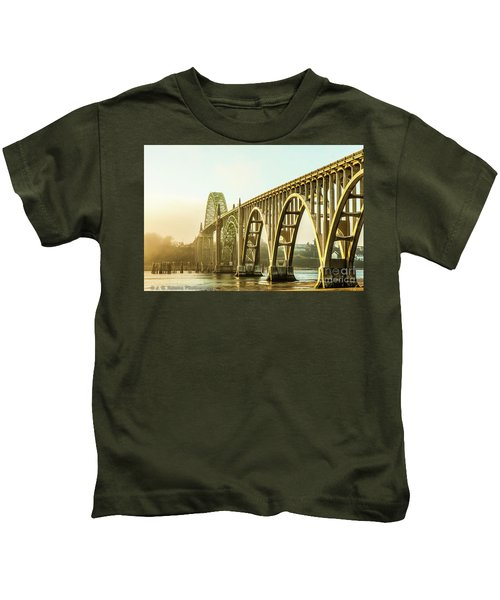 Newport Bridge Kids T-Shirt