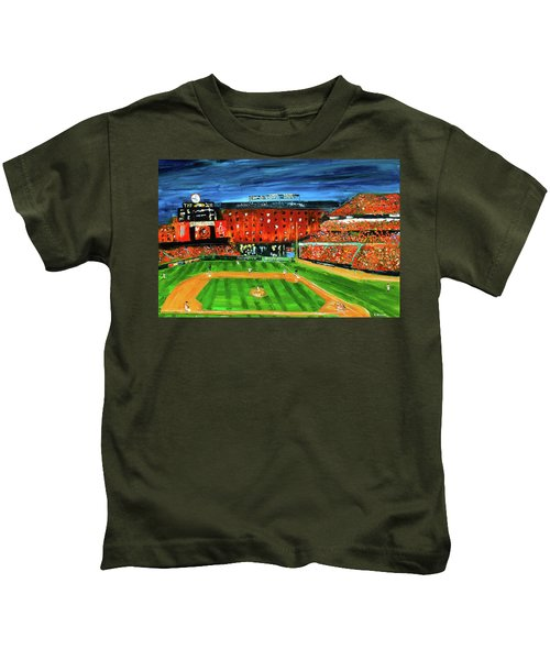 Night At The Yard Kids T-Shirt