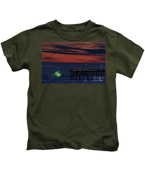 Night Fishing Kids T-Shirt