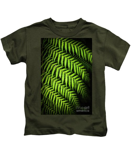 Night Forest Frond Kids T-Shirt