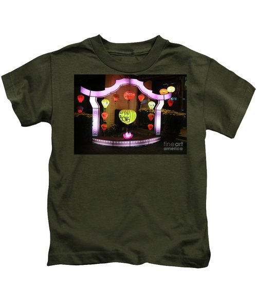 Night Photography Hoi An  Kids T-Shirt