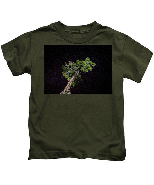 Night Tree Kids T-Shirt