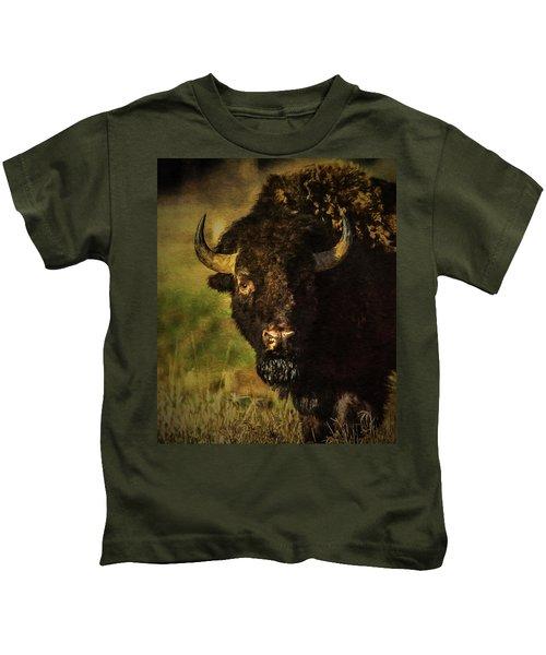 North American Buffalo Kids T-Shirt