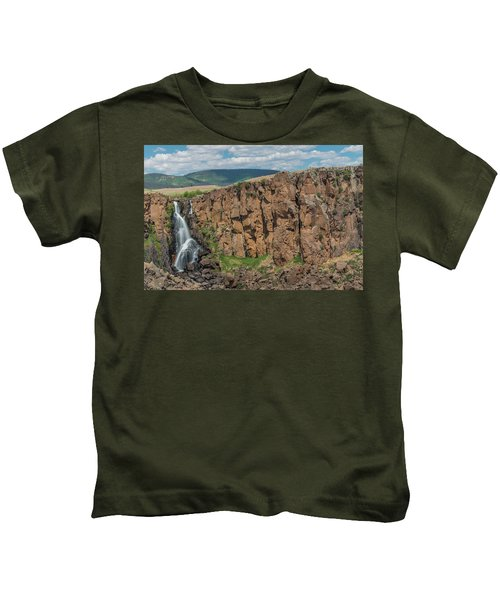 North Clear Creek Falls, Creede, Colorado 2 Kids T-Shirt