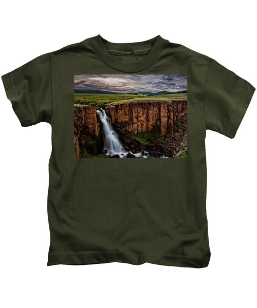 North Clear Creek Falls Kids T-Shirt
