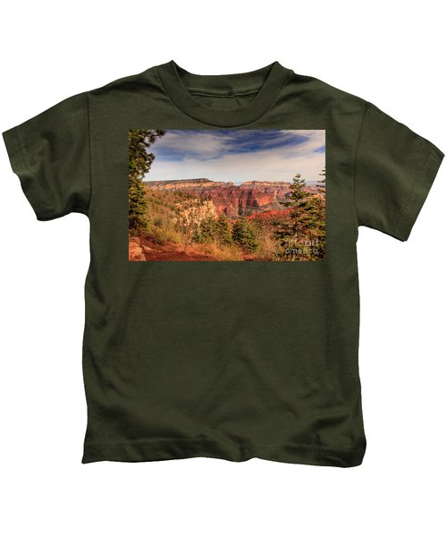 North Rim View Kids T-Shirt