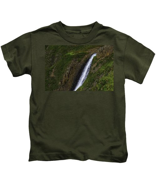 North Table Mountain Falls Kids T-Shirt