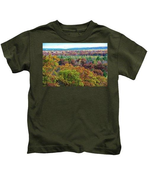 Northern Michigan Fall Kids T-Shirt