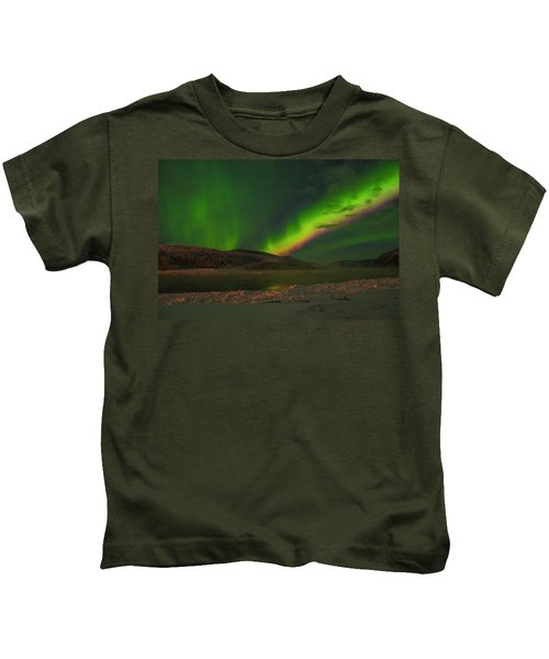 Northern Northern Lights 3 Kids T-Shirt