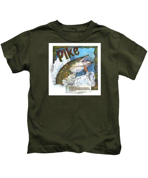 Northerrn Pike Kids T-Shirt