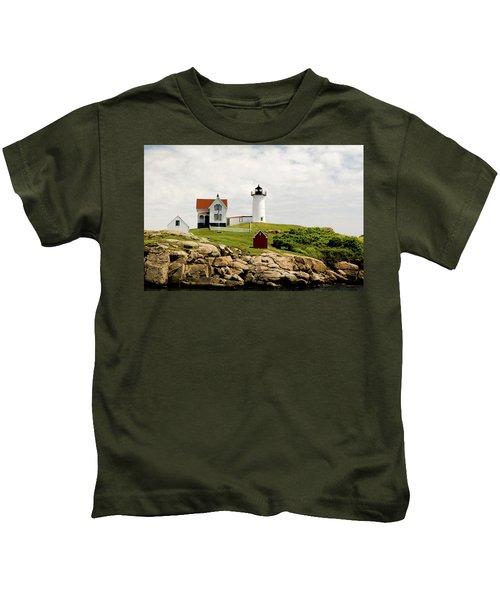 Nubble Light House  Kids T-Shirt