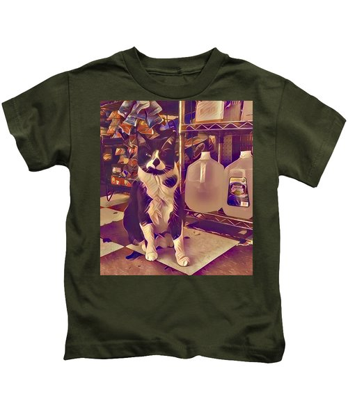 Nyc Bodega Cat Kids T-Shirt