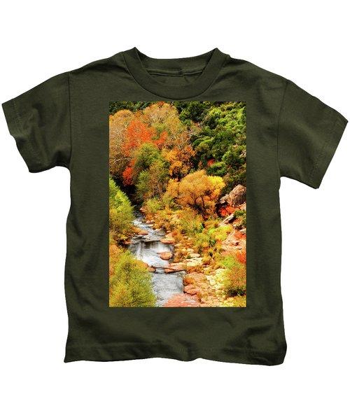 Oak Creek Canyon Kids T-Shirt
