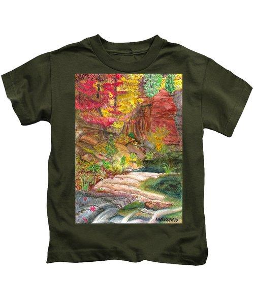 Oak Creek West Fork Kids T-Shirt
