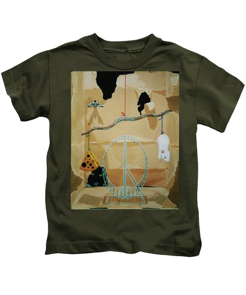 Objects Of Opposite Fit Kids T-Shirt