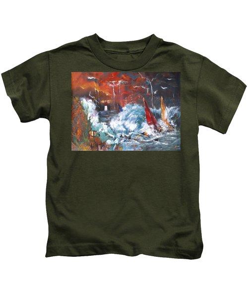 Ocean Fury Kids T-Shirt