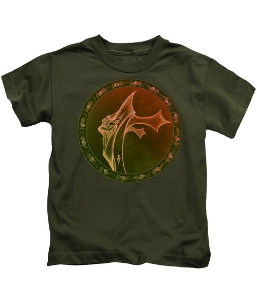 Oceanus Greek God  Kids T-Shirt