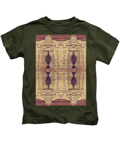 Ode To A Grecian Urn Palais Garnier Paris France Kids T-Shirt