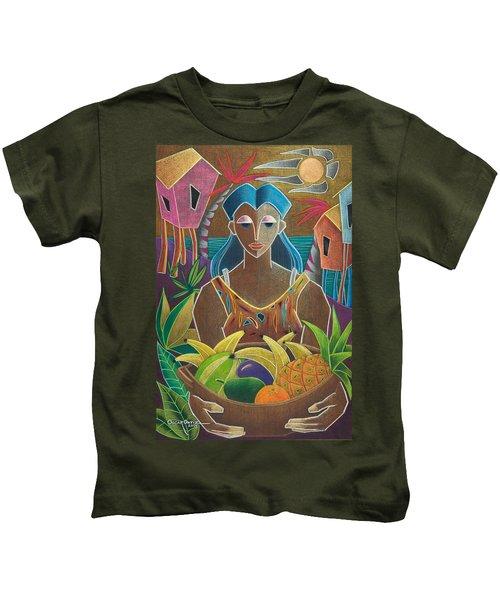 Ofrendas De Mi Tierra Kids T-Shirt