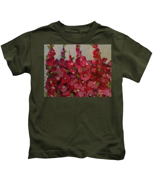 Oh My Hollyhocks Kids T-Shirt