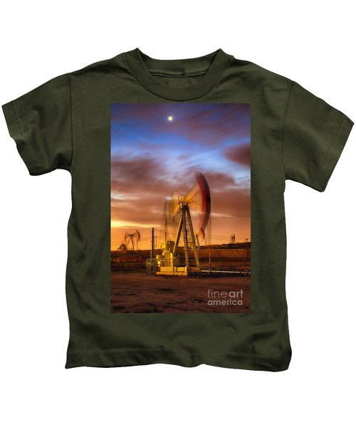 Oil Rig 1 Kids T-Shirt