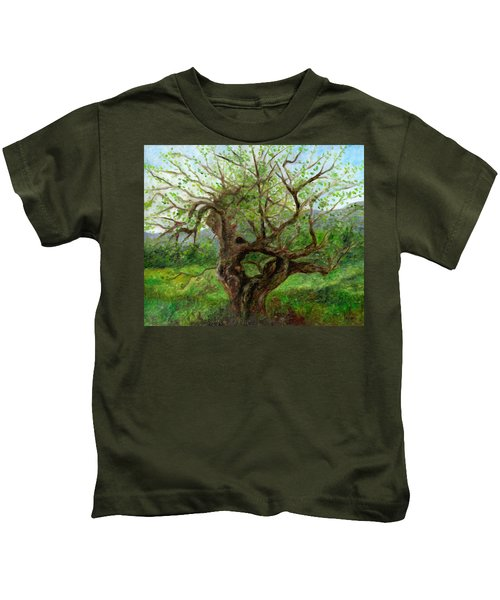 Old Apple Tree Kids T-Shirt