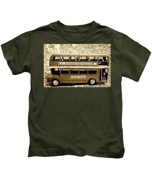 Old City Bus Tour Kids T-Shirt