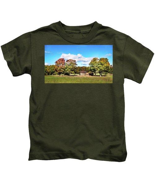 Old Farm House Kids T-Shirt