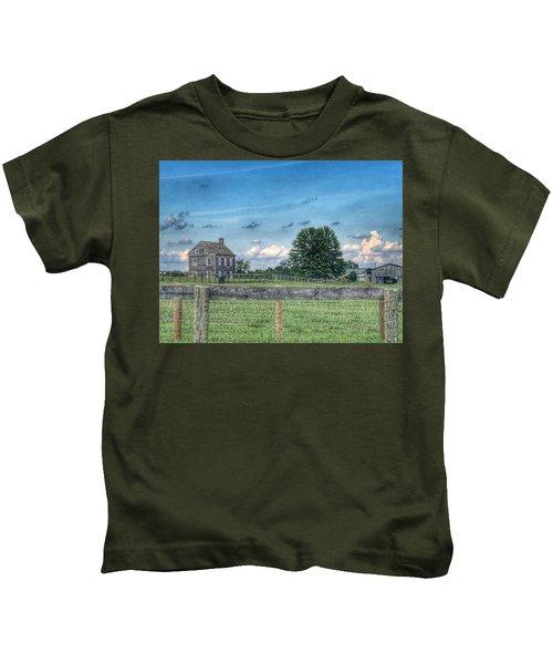 Old Farmhouse Kids T-Shirt