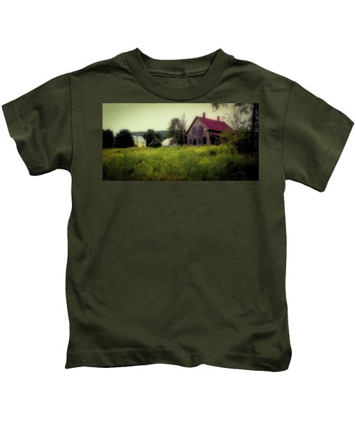 Old Farmhouse - Woodstock, Vermont Kids T-Shirt
