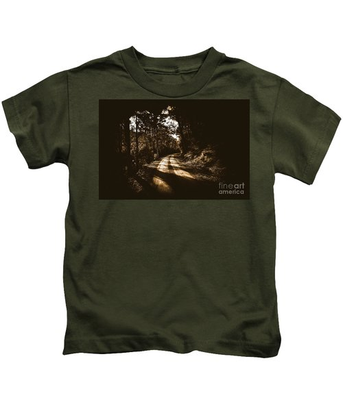 Old Forest Road Kids T-Shirt