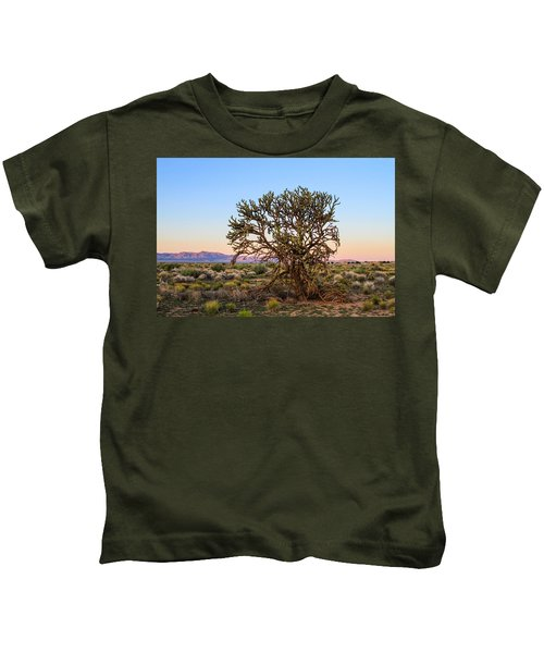 Old Growth Cholla Cactus View 2 Kids T-Shirt