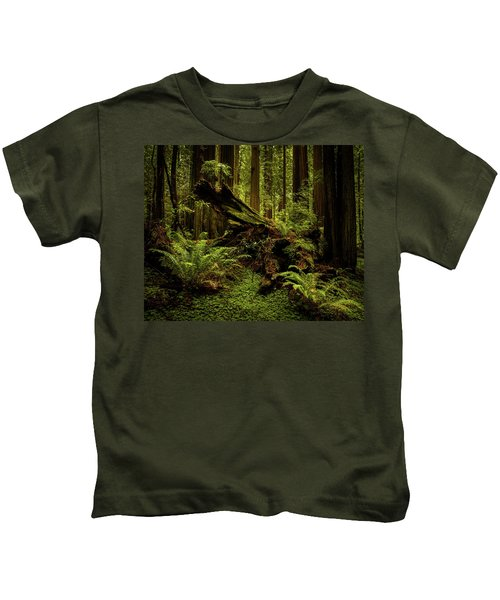 Old Growth Forest Kids T-Shirt