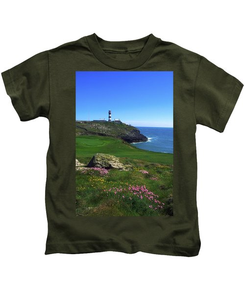Old Head Of Kinsale Lighthouse Kids T-Shirt