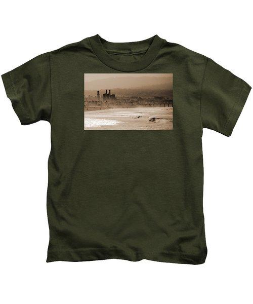 Old Hermosa Beach Kids T-Shirt