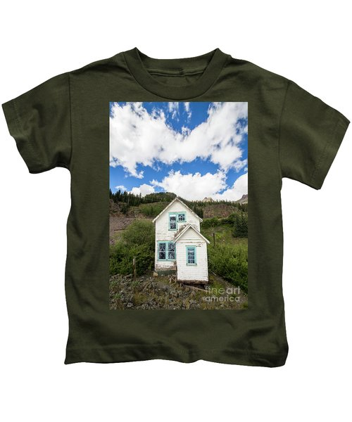 Old Mining Home In Silverton Kids T-Shirt