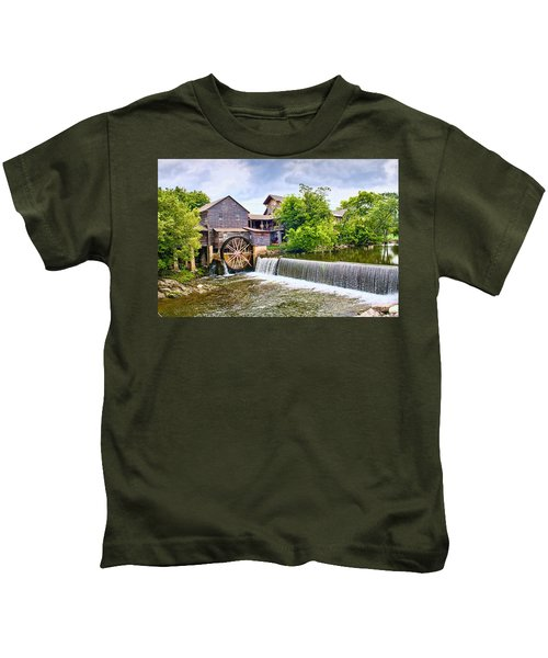Old Pigeon Forge Mill Kids T-Shirt