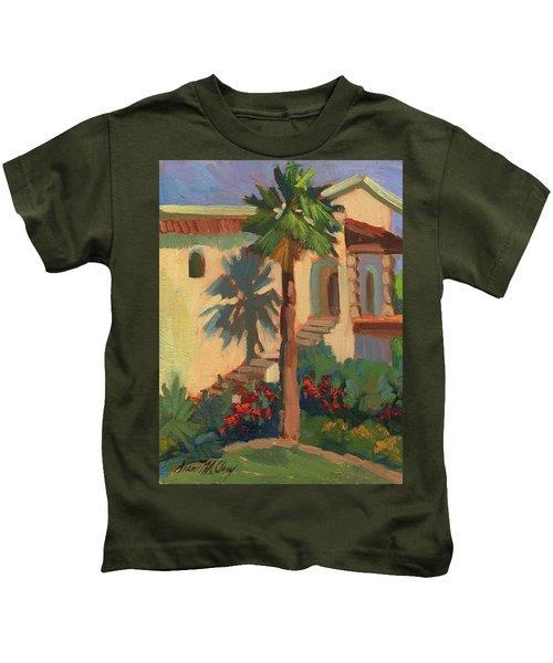Old Town La Quinta Palm Kids T-Shirt