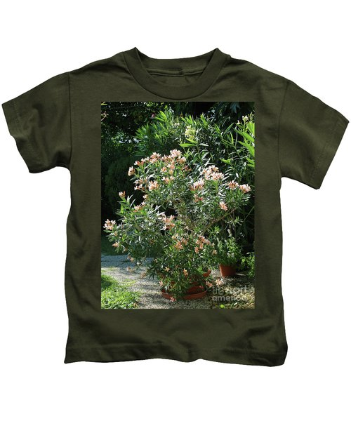 Oleander Petite Salmon 4 Kids T-Shirt