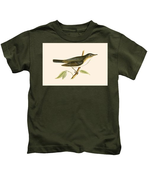 Olive Tree Warbler Kids T-Shirt by English School