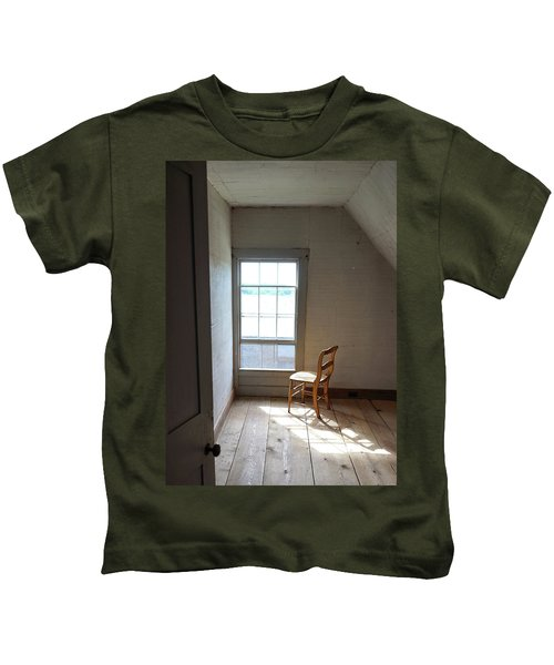 Olson House Chair And Window Kids T-Shirt
