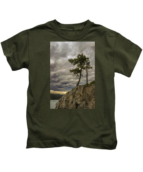 Ominous Weather Kids T-Shirt