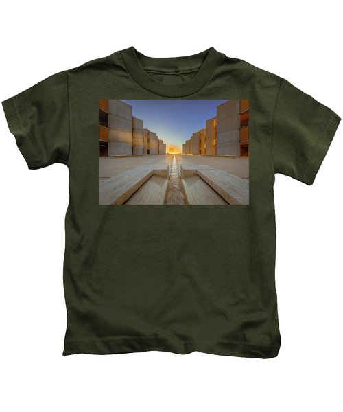 On Opposite Sides  Kids T-Shirt