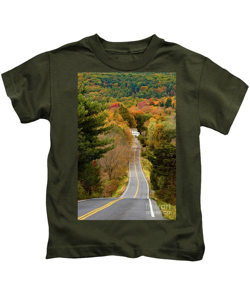 On The Road To New Paltz Kids T-Shirt